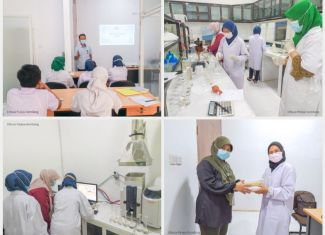 News Training Activities on the Use of Atomic Absorption Spectrophotometry AAS with PT SUCOFINDO Surabaya 2021scfnpg