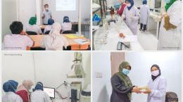 Training Activities on the Use of Atomic Absorption Spectrophotometry AAS with PT SUCOFINDO Surabaya
